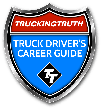 TruckingTruth Logo Truck Driver's Career Guide