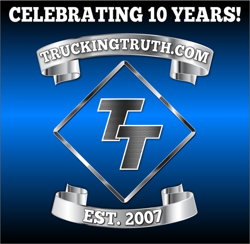 truckingtruth 10 year anniversary logo