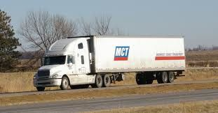 MCT tractor trailer on the highway