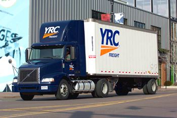YRC Freight tractor trailer