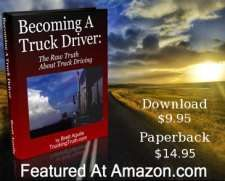 Book cover for Becoming A Truck Driver: The Raw Truth About Trucking