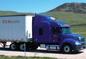 H.O. Wolding Truck