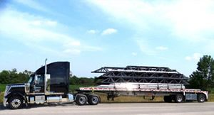 Celadon Trucking flatbed truck