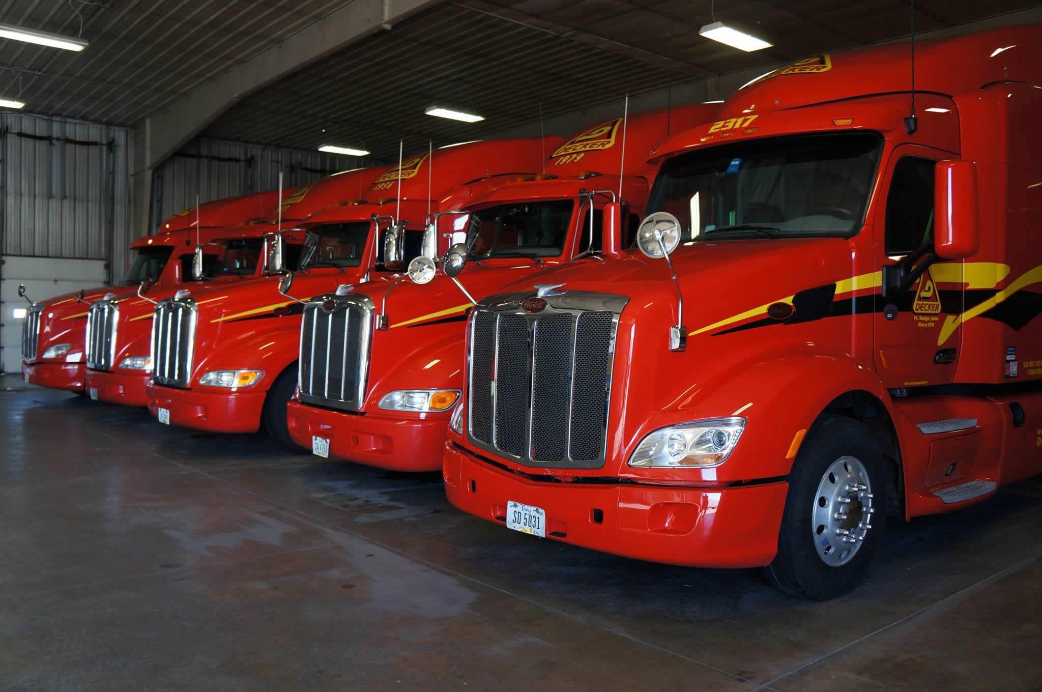 Lone Star Dodge >> Decker Truck Line Inc. - Fort Dodge, IA - Company Review